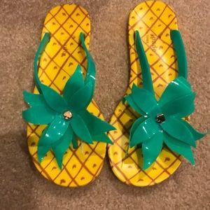 Kate Spade flip flops. Size 8
